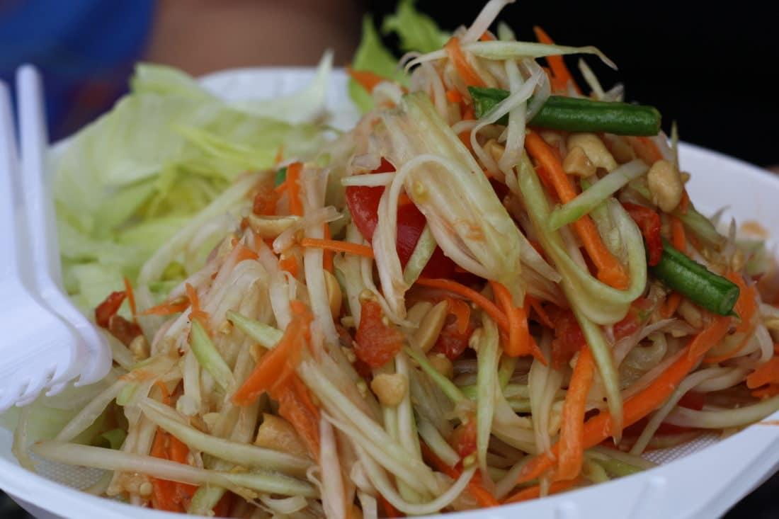 Papayasalat Thaimarkt