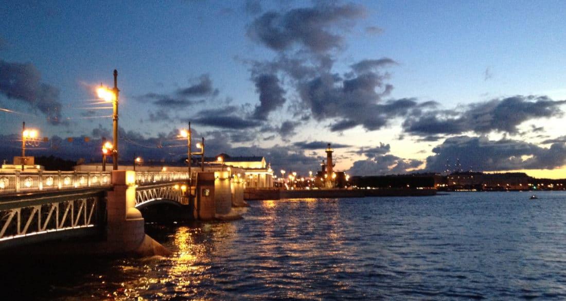 Weisse Nächte in Sankt Petersburg