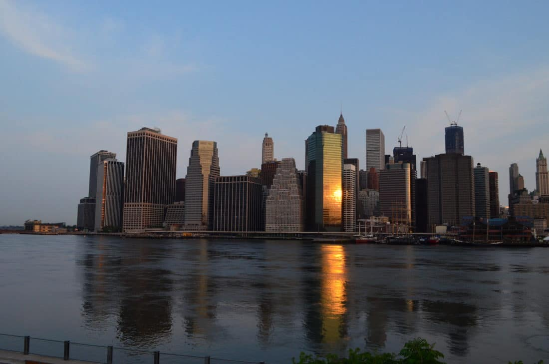 New York Insider Tipp Sonnenaufgang