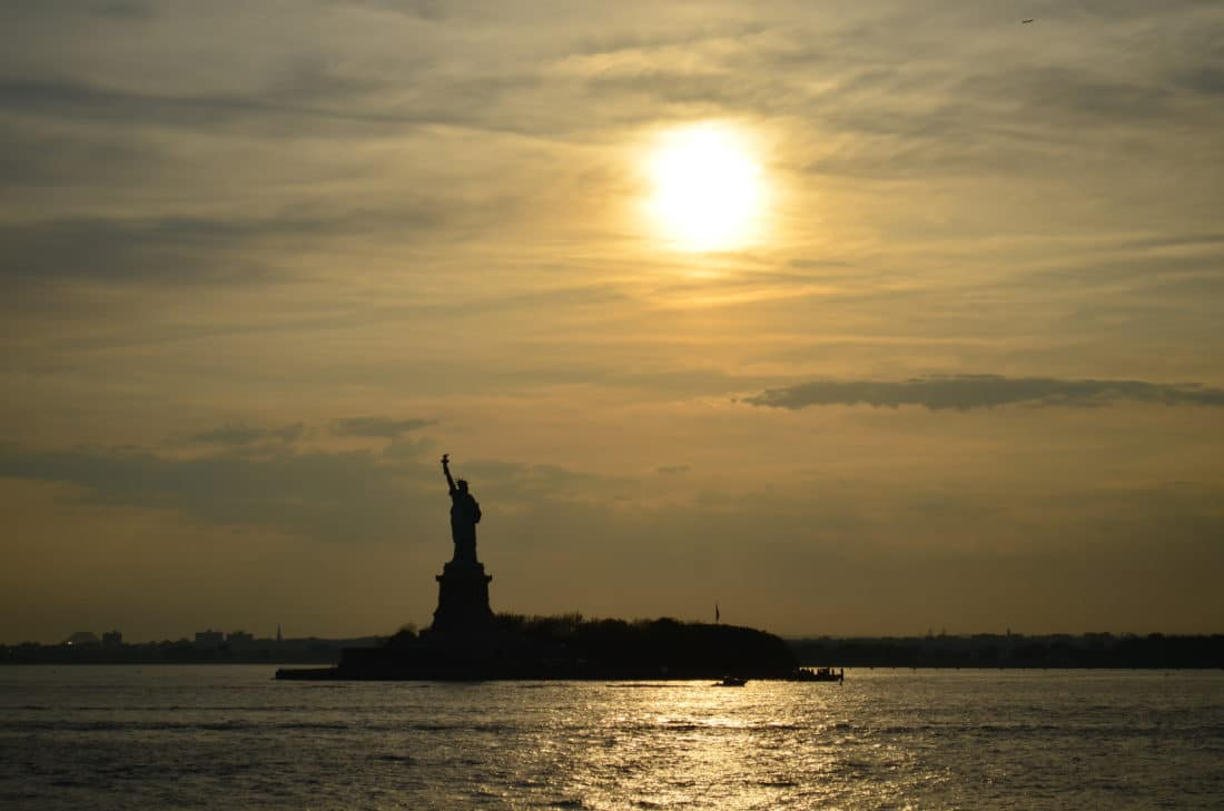 5 Tage in New York - Statue of Liberty