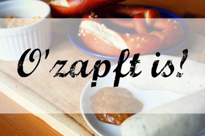 Jetzt wird es zünftig – Zeit für ein Bayrisches Frühstück