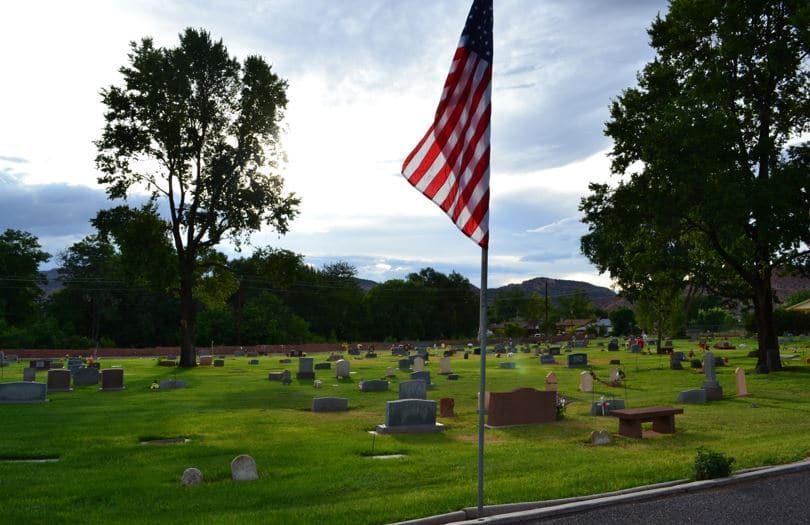 Friedhof - Kanab, Utah