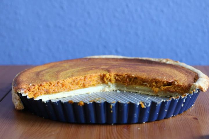 Rezept für die Kürbiszeit: Pumpkin Pie