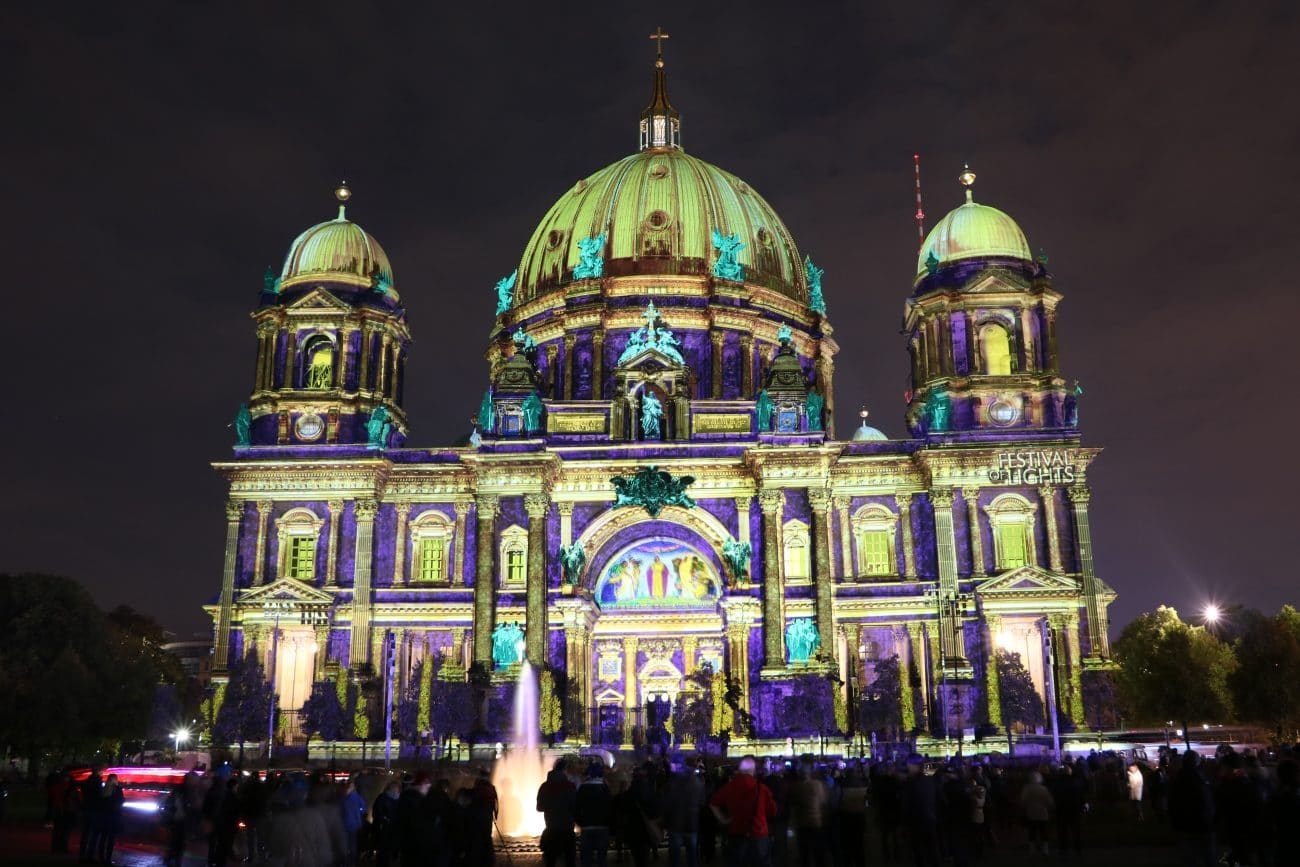 Festival of Lights in Berlin 2015, Foto und Video von Passenger-X