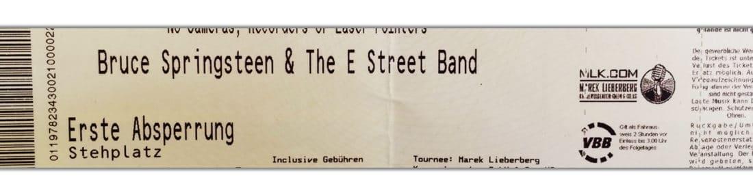 concerts bruce springsteen