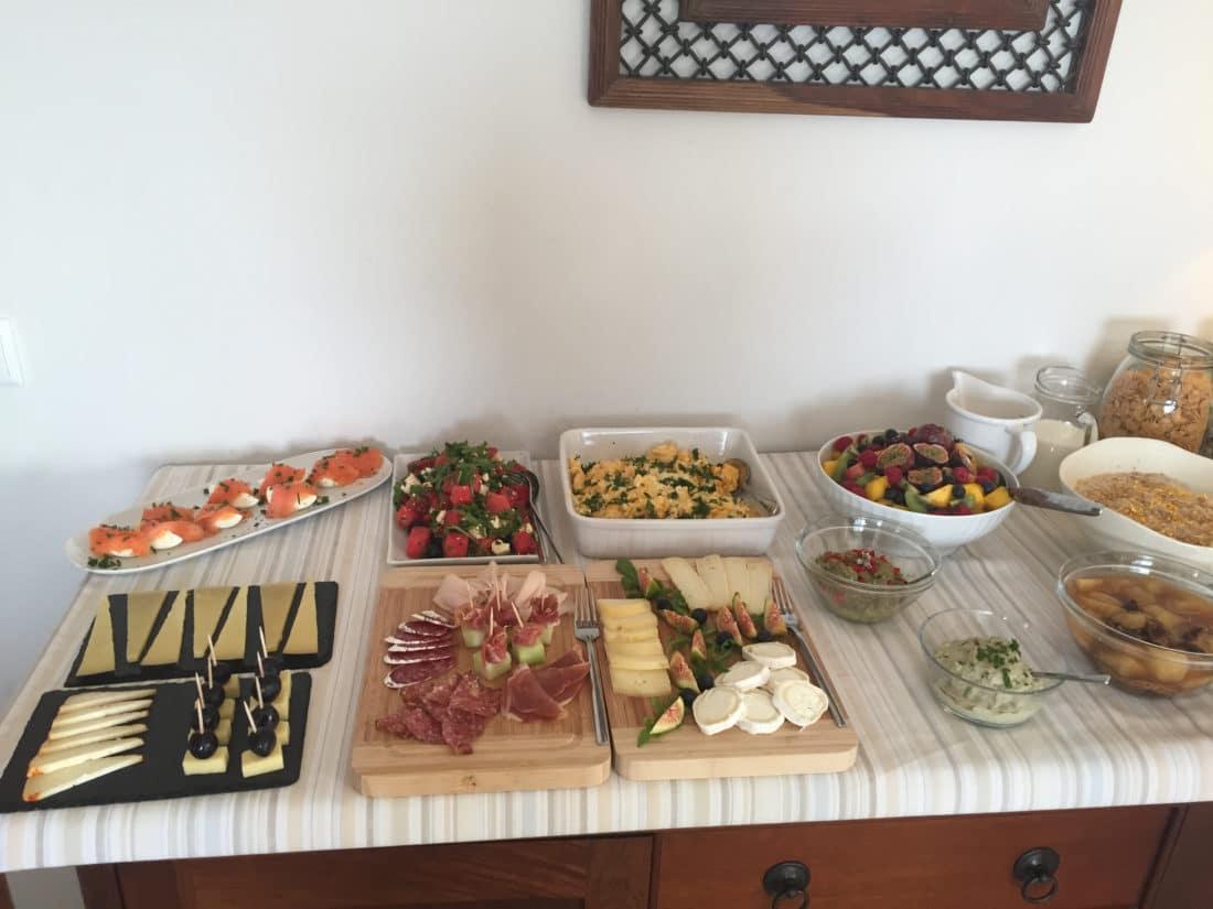 Frühstück in Portugal Karma Surf Retreat