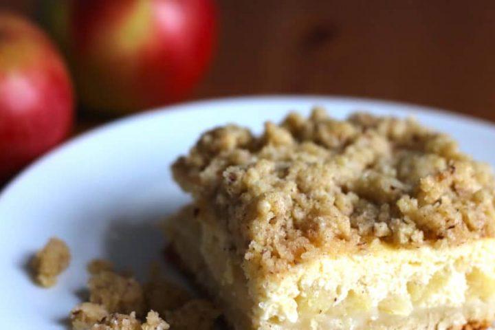 Rezept für den köstlichen Apfel-Quark-Streusel-Kuchen