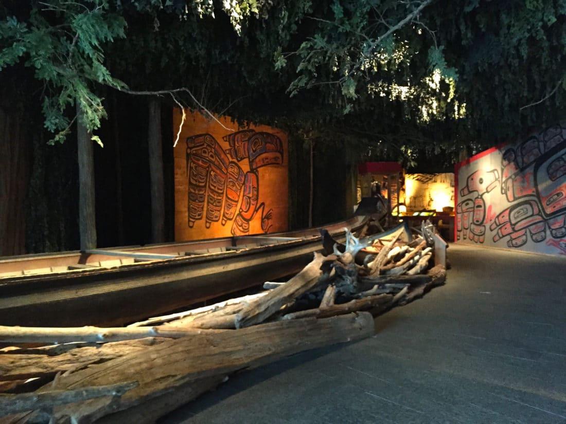Candian Museum of history Ottawa Indianer Kajak