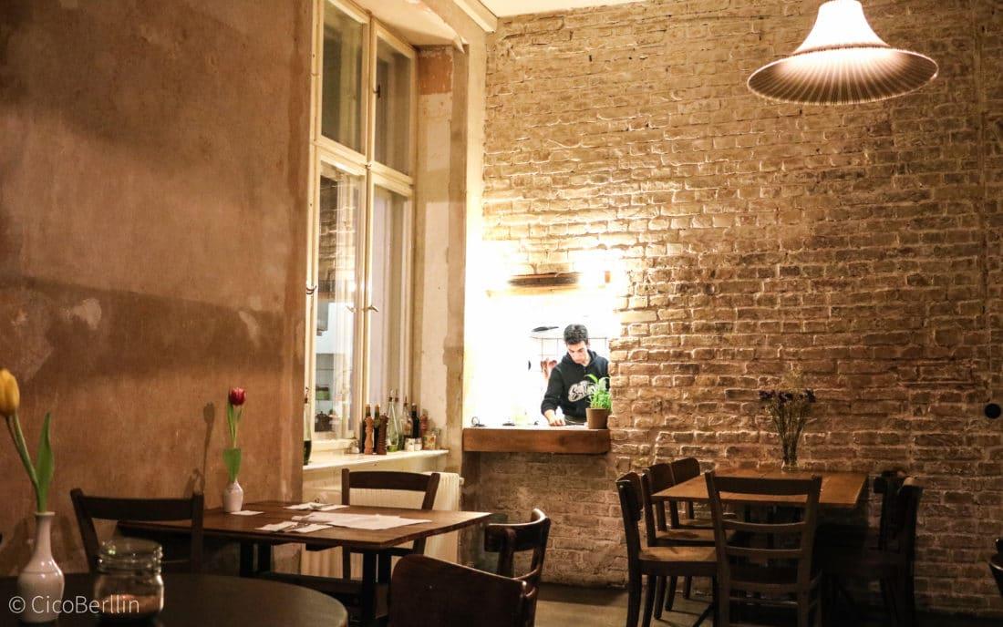 Caligari Restaurant Berlin italienisch Interior