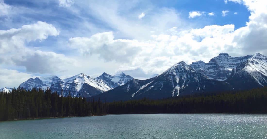 See und Berge im Banff Nationalpark, Kanada - Foto und Reisebericht von CicoBerlin