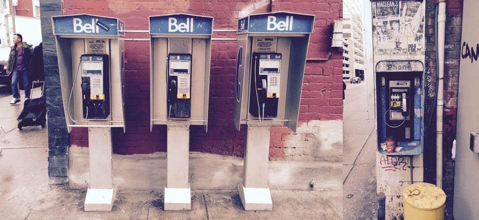 Telefonzelle Toronto