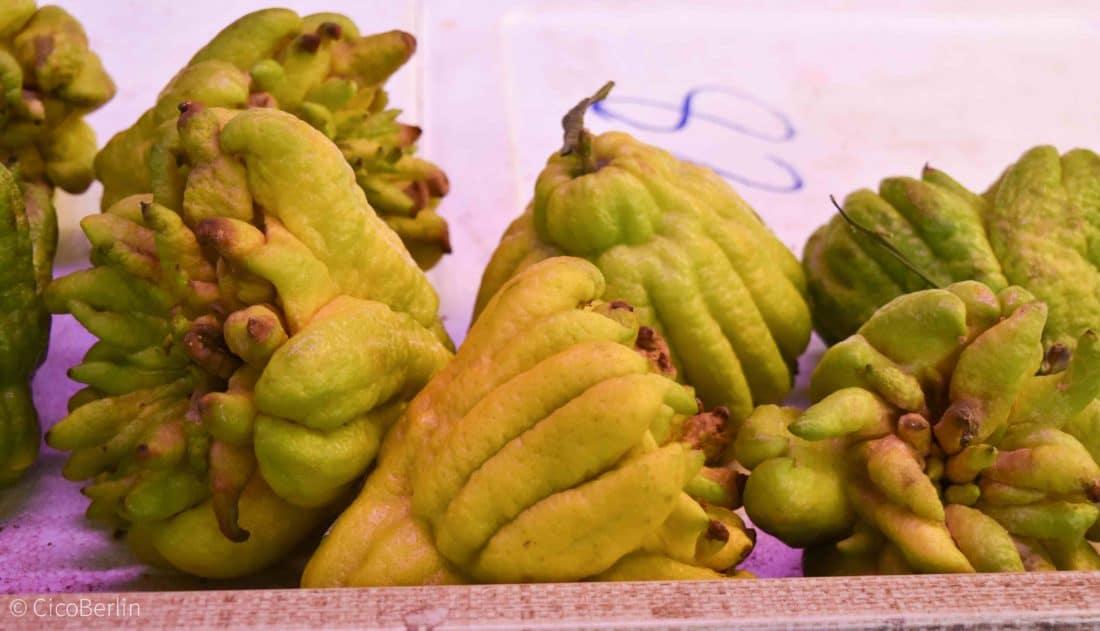 Dong Xuan Center exotische Frucht