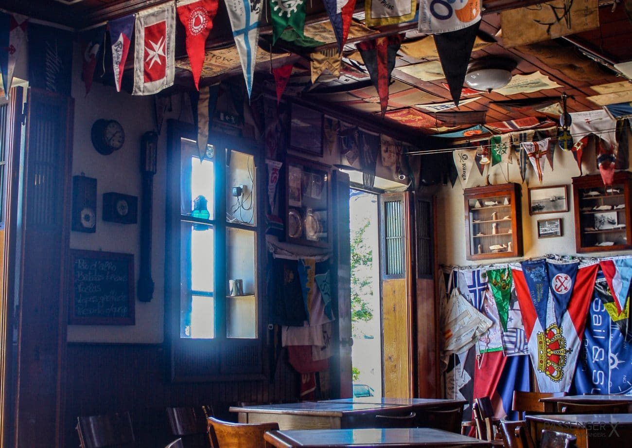 Top Highlights Azoren- Peter Cafe Sport in Horta auf Faial, Tipp von PASSENGER X