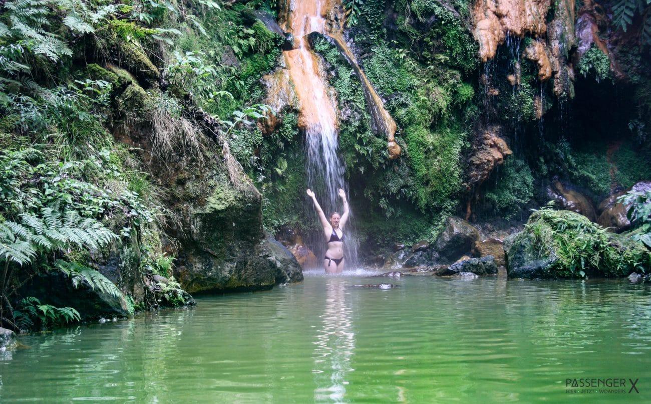 Top Highlights Azoren, Sao Miguel, Caldeira Velha - Tipps von PASSENGER X