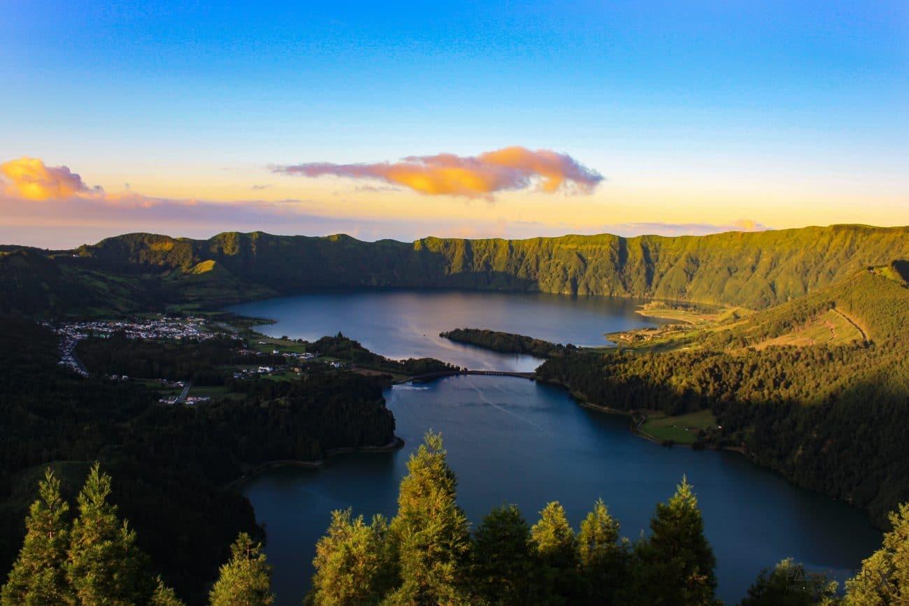 Top Highlights Azoren, Sao Miguel Caldeira das Sete Cidades - Tipps von PASSENGER X