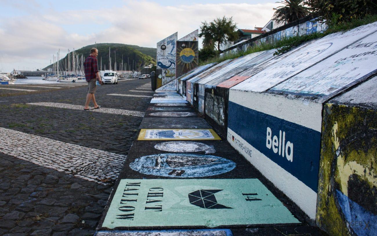 Top Highlights Azoren- der Hafen von Horta auf der Insel Faial - Tipp von PASSENGER X