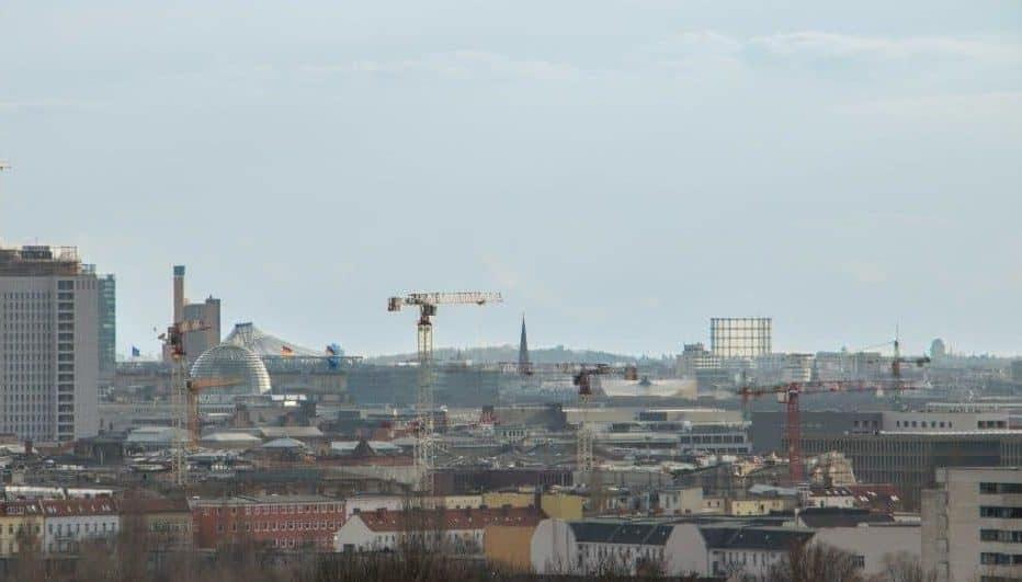 Aussichtsplattformen in Berlin Flakturm im Humboldthain
