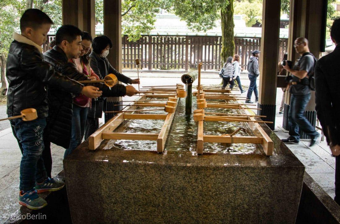 Yoyogi Park Tempel