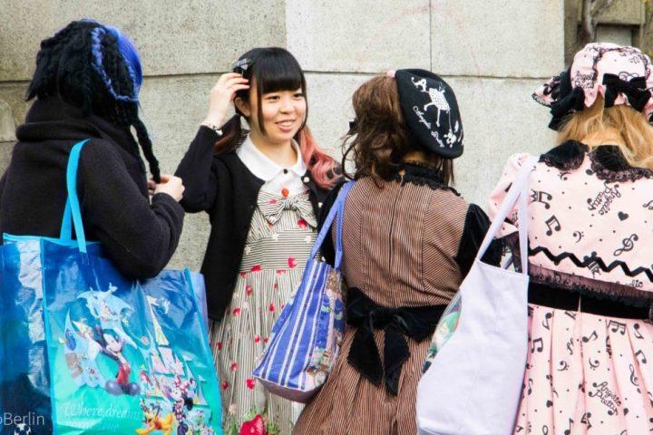 Tokio erste Eindrücke: Scheußliches in Pink und eine Hochzeit