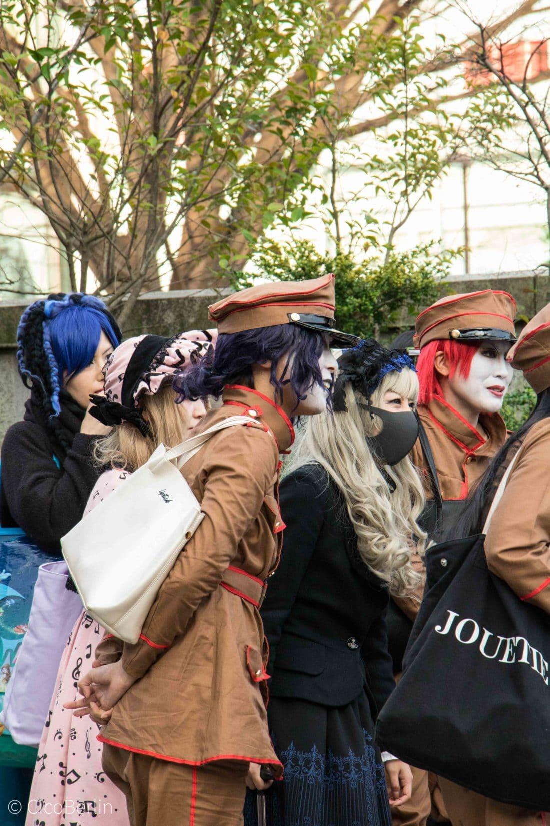 Tokio Subkulturen