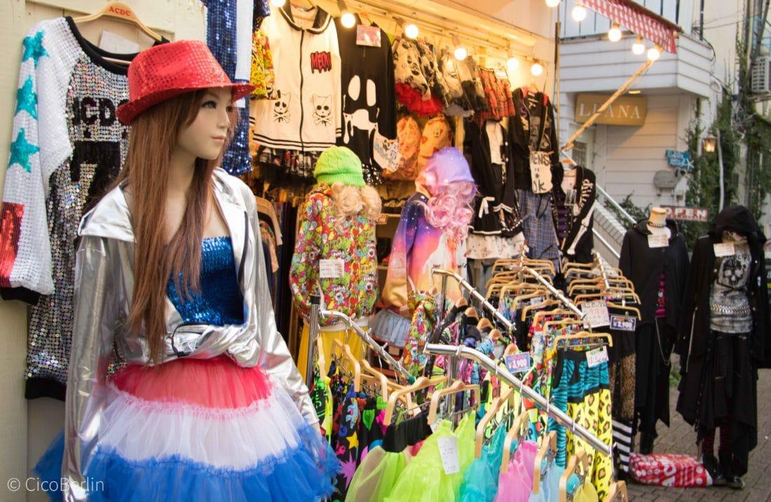 Takeshita Street Fashion Tokio