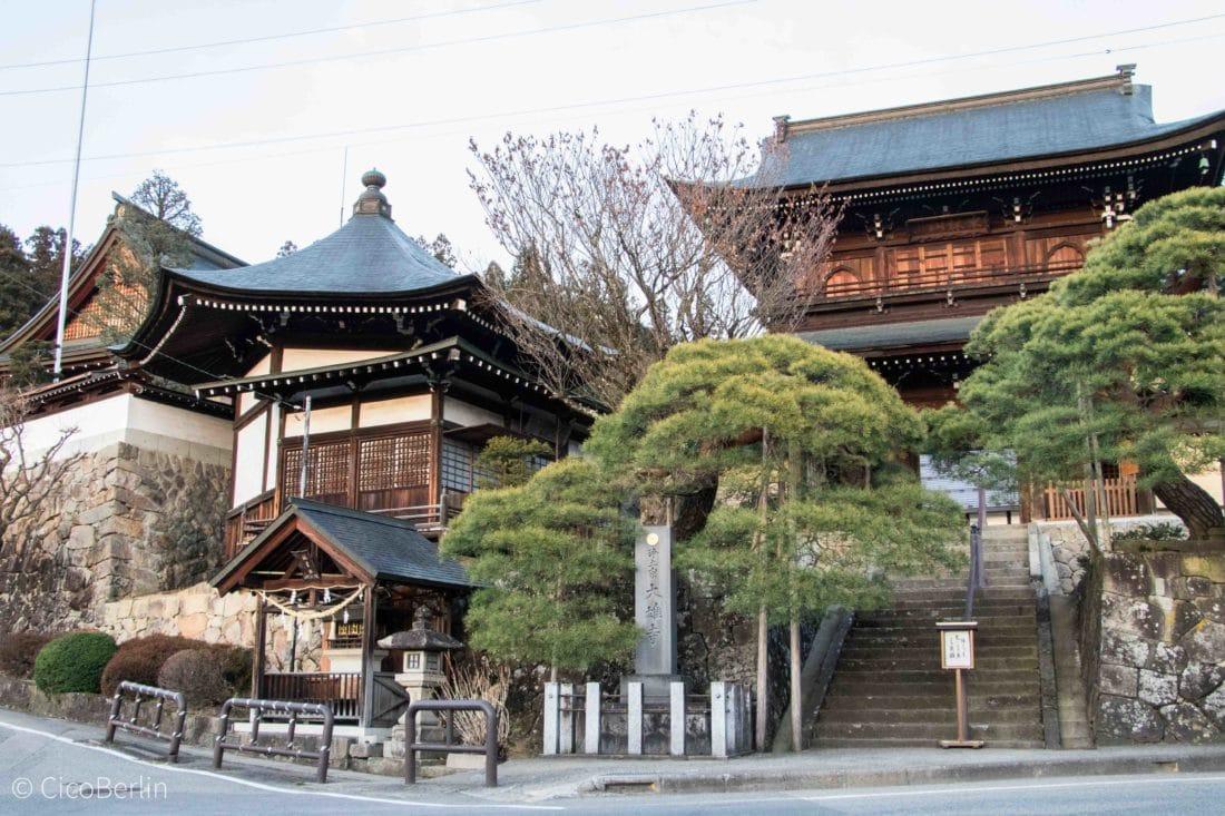 Tempel in Takayama