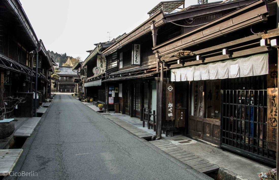 Takayama Japan - die alten Privathäuser