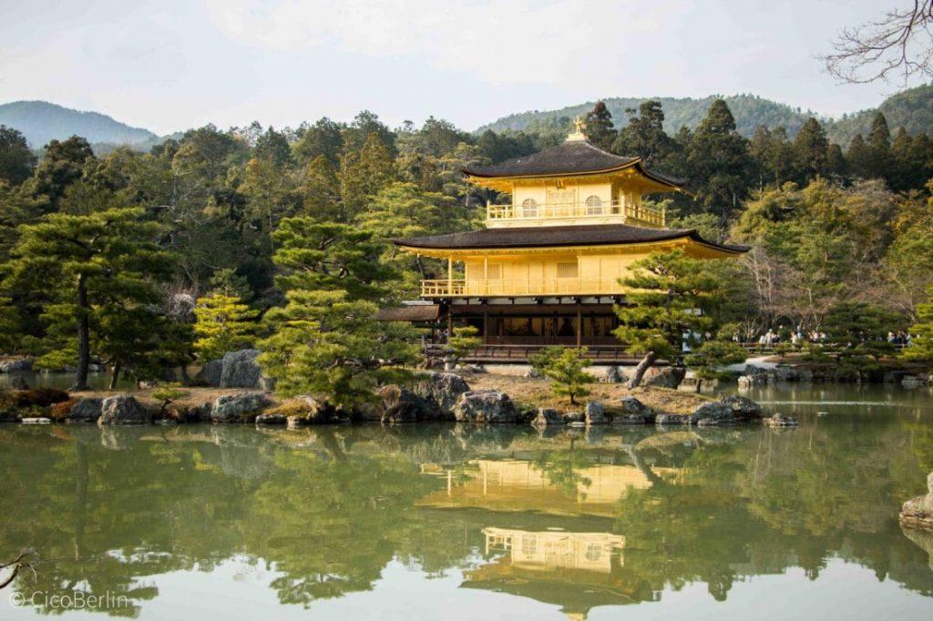 Kyoto Kinkaku-ji, Japan