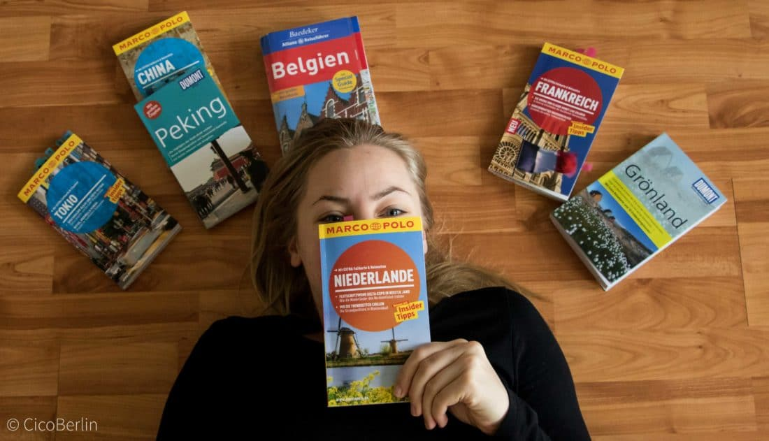 Reisevorbereitung Belgien und Niederlande