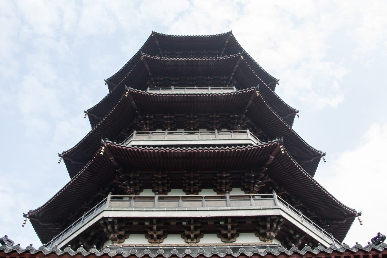 Die sechser Pagode in Hangzhou