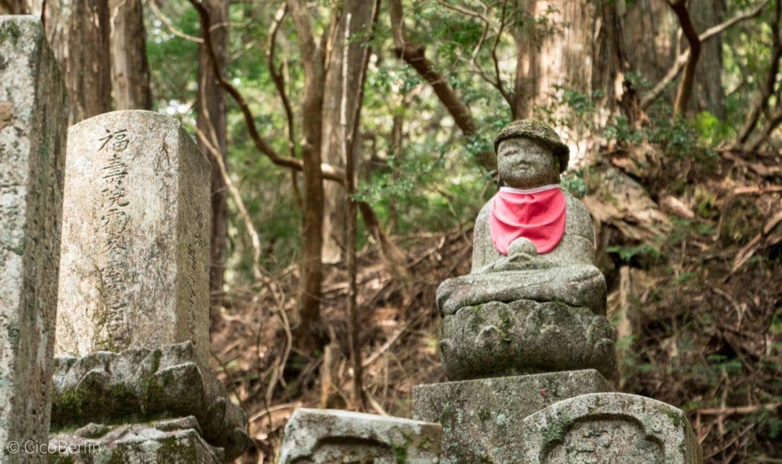 Koyasan - der größte Friedhof Japans