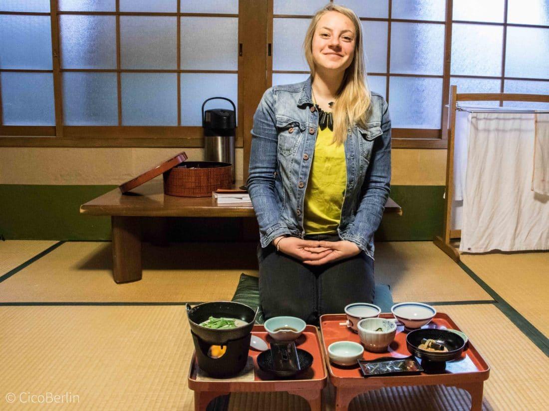 Frühstück in Koya-san