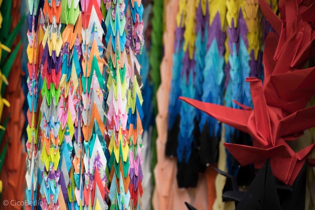 Origami Kraniche Hiroshima