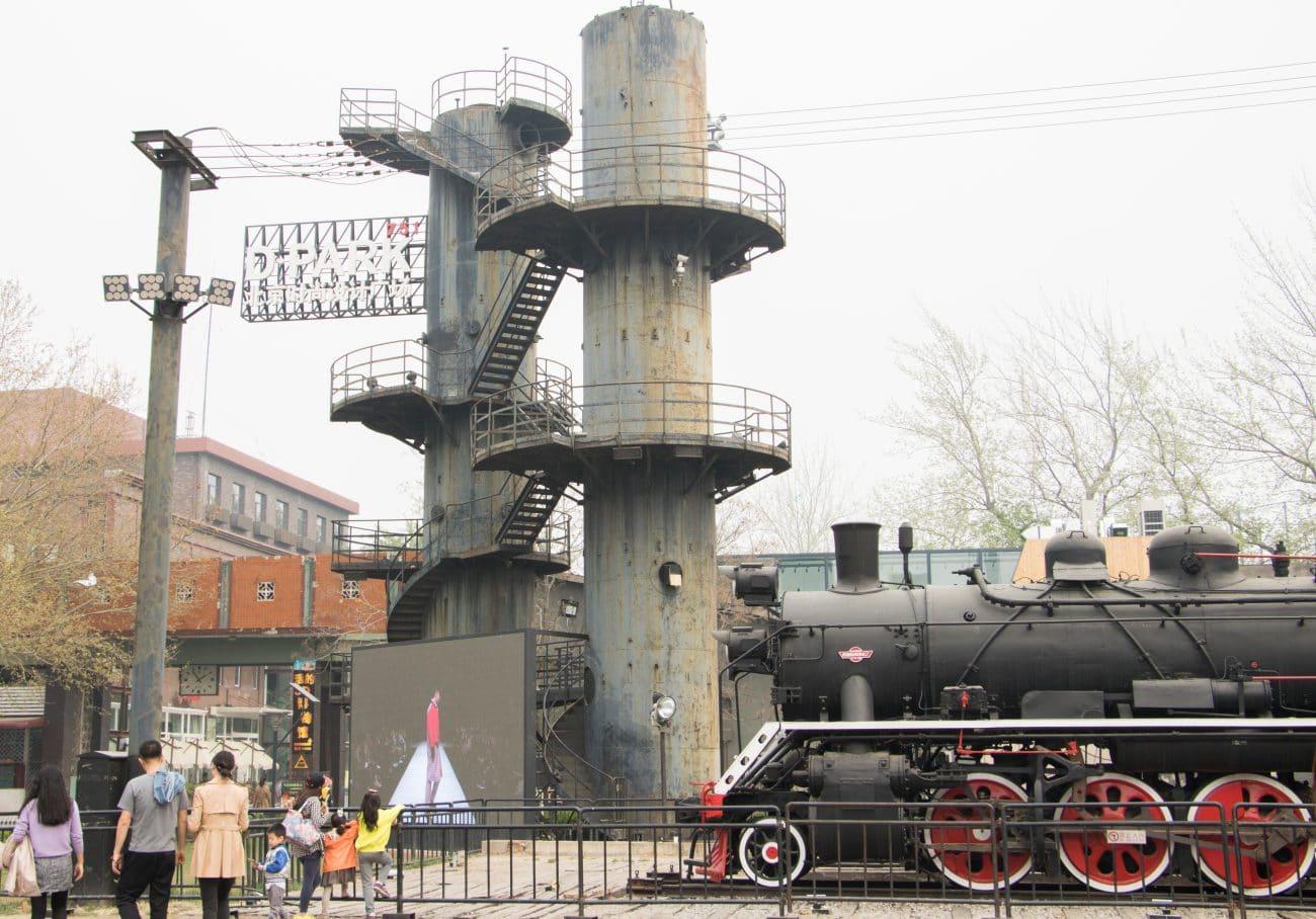 Tops und Flops Peking - das Kunstviertel 798 Art District