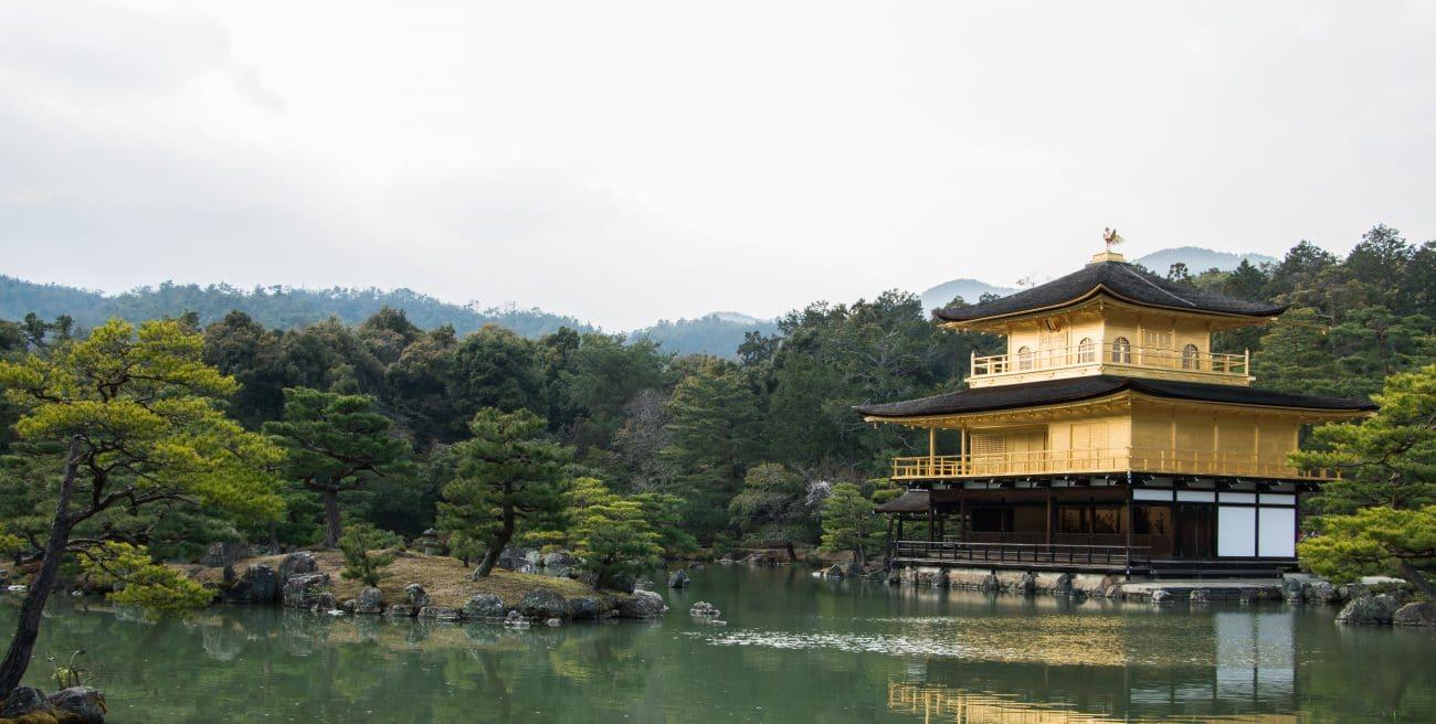Japan Rundreise Kyoto, der goldene Tempel, Foto und Artikel von PASSENGER X