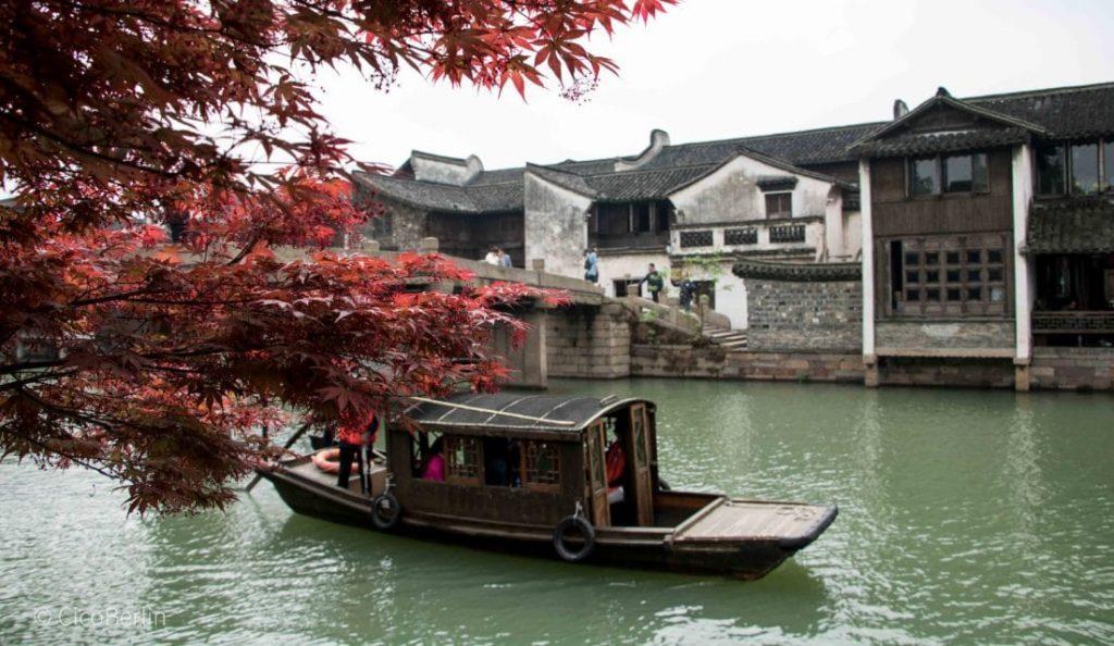 das Wasserdorf Wuzhen, China