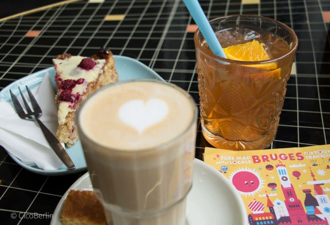 Bruges, Tops und Flops Brügge - Vero Café