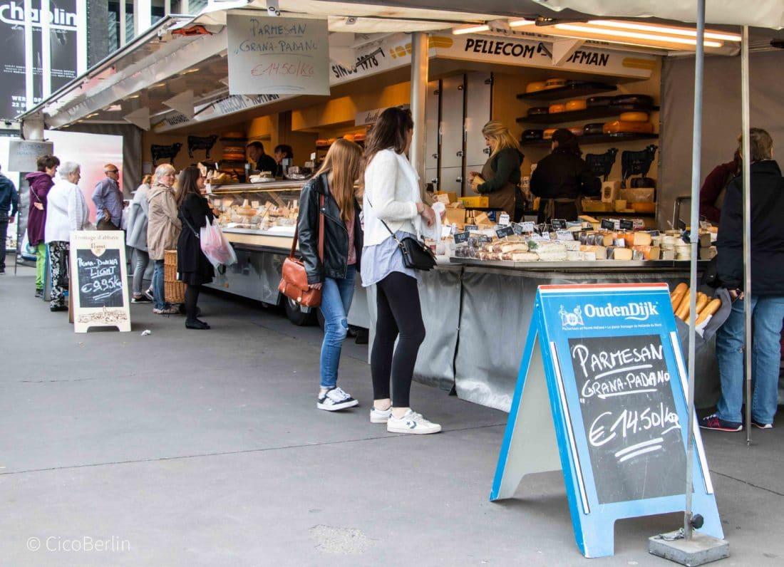 Ein Tag in Antwerpen - Der Markt