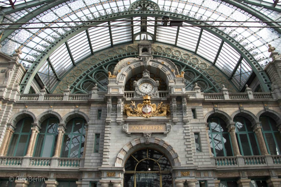 Ein Tag in Antwerpen / one day in Antwerp, Bahnhof Antwerpen/ main station