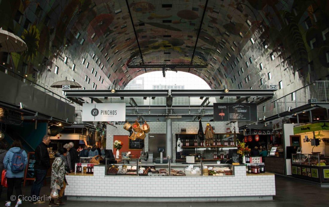 Ein Tag in Rotterdam - die Markthalle