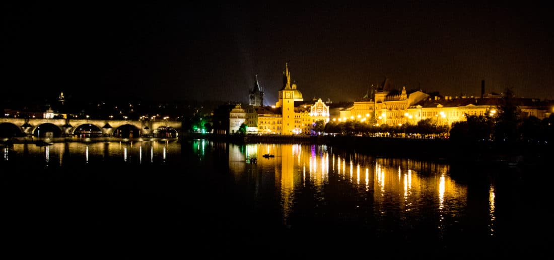 Prag bei Nacht - die Highlights in Prag