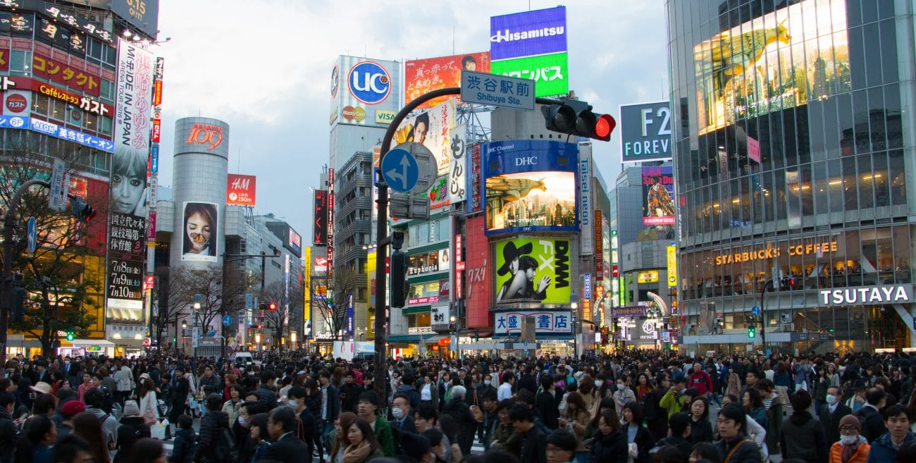 Japan Rundreise, Shibuya Crossing - Highlights Tokios