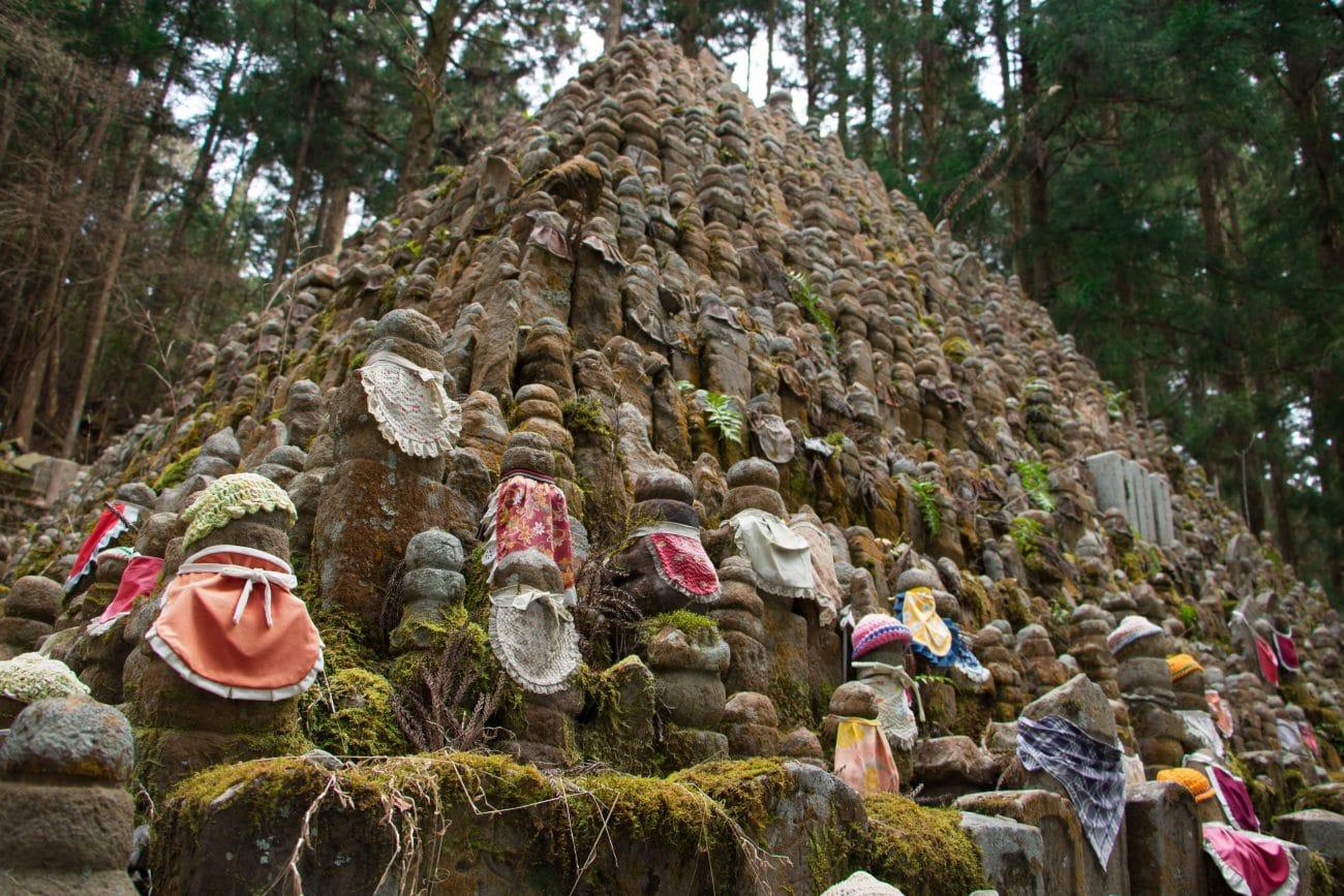 Japan Rundreise, Koyasan - der größte Friedhof Japans, Foto und Artikel PASSENGER X