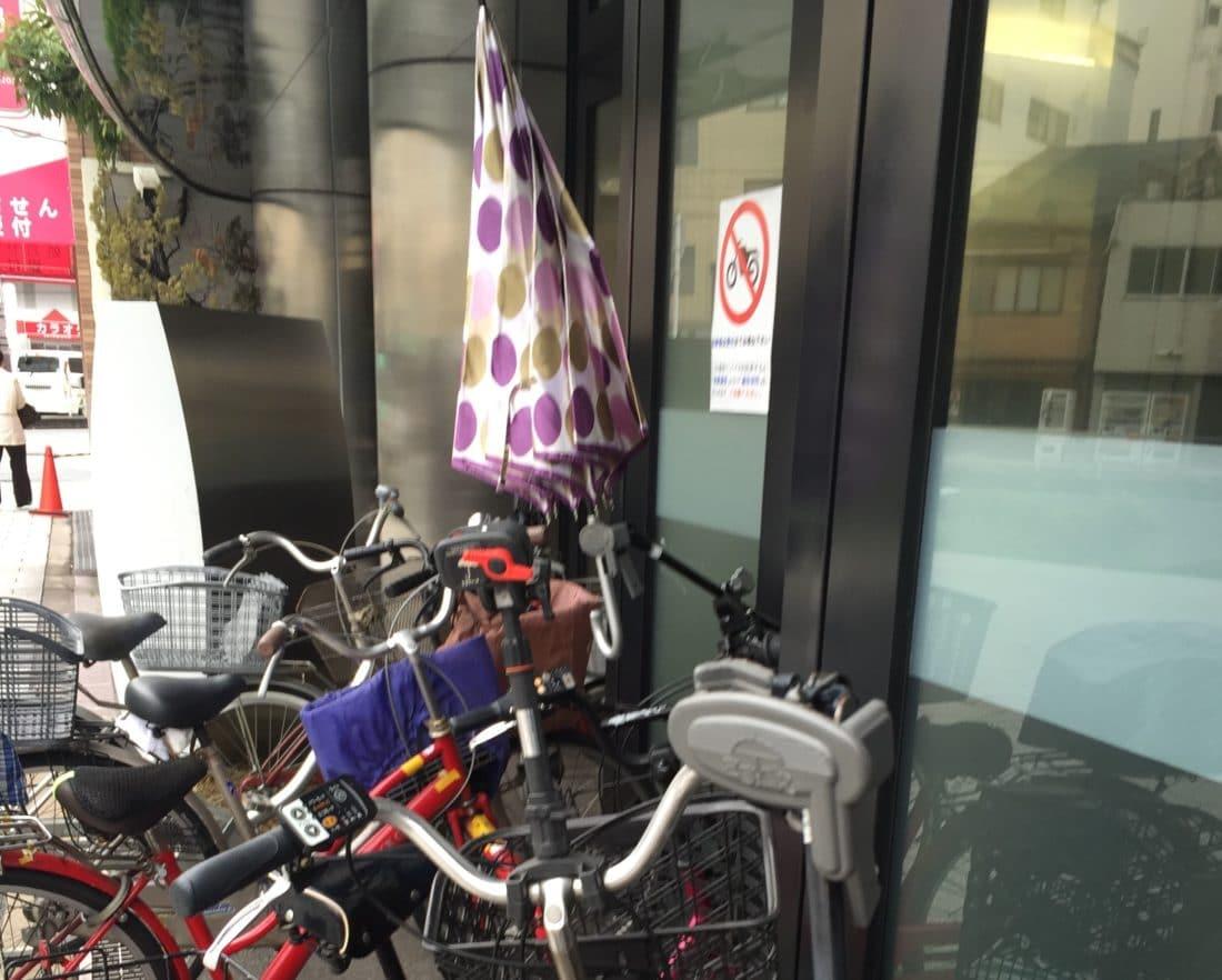 Kuriositaeten Japan Fahrradfahren