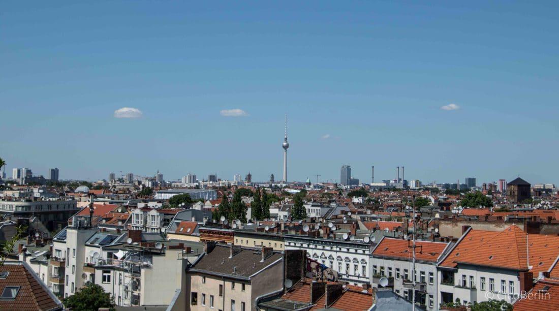 Klunkerkranich, die Rooftop Bar Berlin Neukölln Photo & Text by CicoBerlin