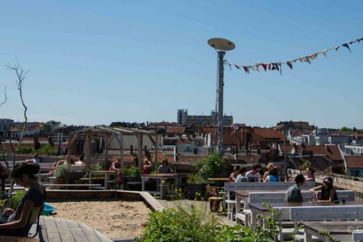 Der beste Ort für den Sommer: Klunkerkranich, die Rooftop Bar Berlin Neukölln