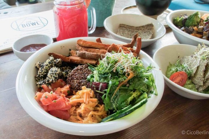 Best vegan restaurant Berlin: The Bowl