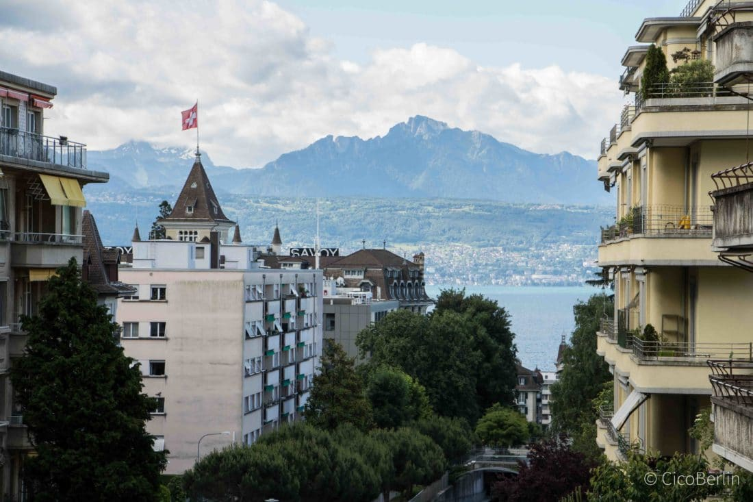 Stadt am Genfer See, Evian