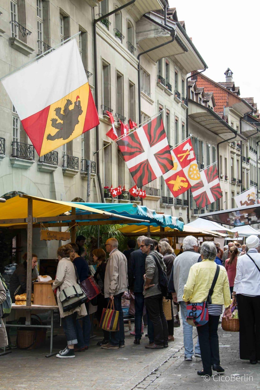 Top Sehenswürdigkeiten Bern, Samstagsmaerkte