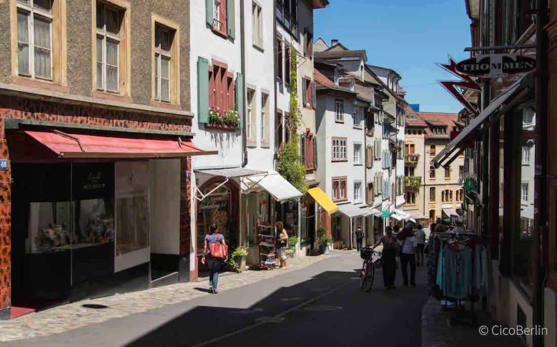 Basel Spalenberg, Top Spots Basel
